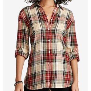 Denim and Supply plaid button down shirt